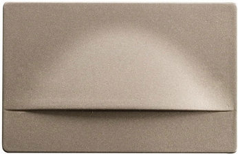 Kichler 12672NI Step and Hall Light Contemporary Brushed Nickel LED Indoor Step Light