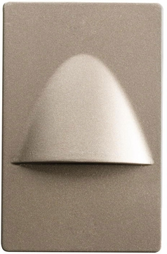Kichler 12677NI Step and Hall Light Contemporary Brushed Nickel LED Indoor Step Light
