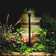 Kichler 15457AZT Textured Architectural Bronze 21 Inch Tall Outdoor Path Lighting