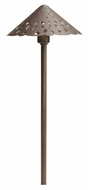 Kichler 15471BBR Bronze Brass Outdoor Transitional Path Lighting Fixture