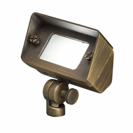 Kichler 15476CBR Centennial Modern Centennial Brass Halogen Outdoor Flood Light