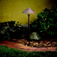 Kichler 15843TZT Landscape LED Exterior Textured Tannery Bronze Path Light - 22 Inches Tall