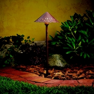 Kichler 15871TZT Landscape LED 22 Inch Tall Textured Tannery Bronze Path Lighting