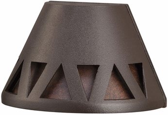 Kichler 16112AZT30 Modern Textured Architectural Bronze LED Outdoor 3000k Deck Lighting