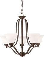 Kichler 1783OZL16 Langford Olde Bronze LED Chandelier Lighting
