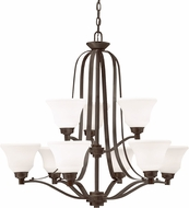 Kichler 1784OZL16 Langford Olde Bronze LED Lighting Chandelier
