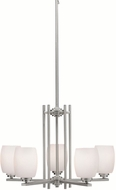 Kichler 1896NIL16 Eileen Contemporary Brushed Nickel LED Hanging Chandelier