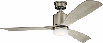 Kichler 300027AP Ridley II Contemporary Antique Pewter LED 52 Ceiling Fan