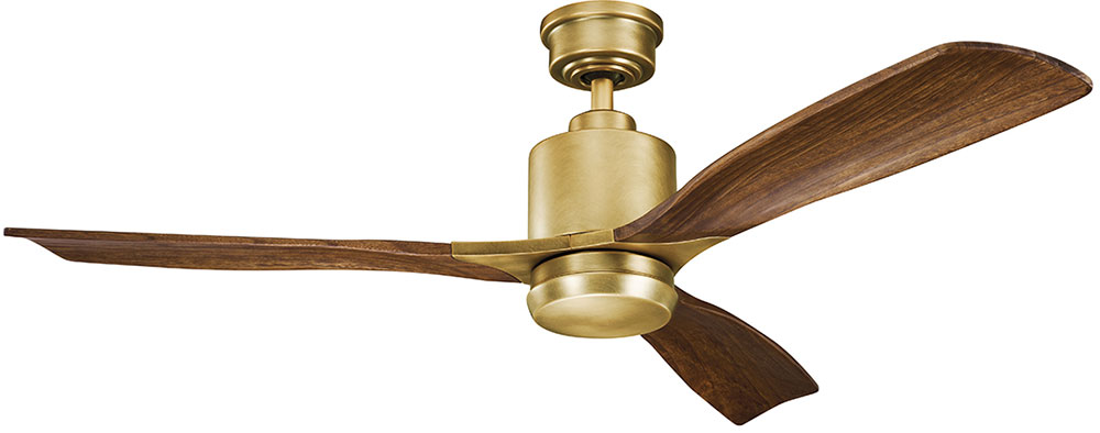 Kichler 300027nbr ridley ii natural brass cherry 52 indoor home kichler 300027nbr ridley ii natural brass cherry 52nbsp indoor home ceiling fan mozeypictures Choice Image