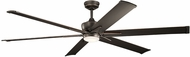 Kichler 300301OZ Szeplo Patio Contemporary Olde Bronze 80  Indoor Home Ceiling Fan