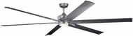 Kichler 300302WSP Szeplo Patio Modern Weathered Steel Powder Coat 96  Ceiling Fan