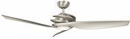 Kichler 300700NI Spyra Contemporary Brushed Nickel Silver 62  Indoor Ceiling Fan