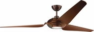 Kichler 300704OBB Contemporary Clear Oil Brushed Bronze 84  Ceiling Fan