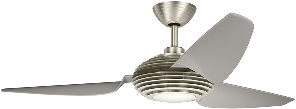 Kichler 300706bss contemporary brushed stainless steel clear kichler 300706bss contemporary brushed stainless steel clear champagne 60nbsp indoor ceiling fan loading zoom mozeypictures Choice Image