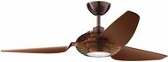 Kichler 300706OBB Modern Clear Oil Brushed Bronze 60  Indoor Home Ceiling Fan