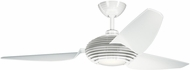 Kichler 300706WH Contemporary Clear White 60  Ceiling Fan