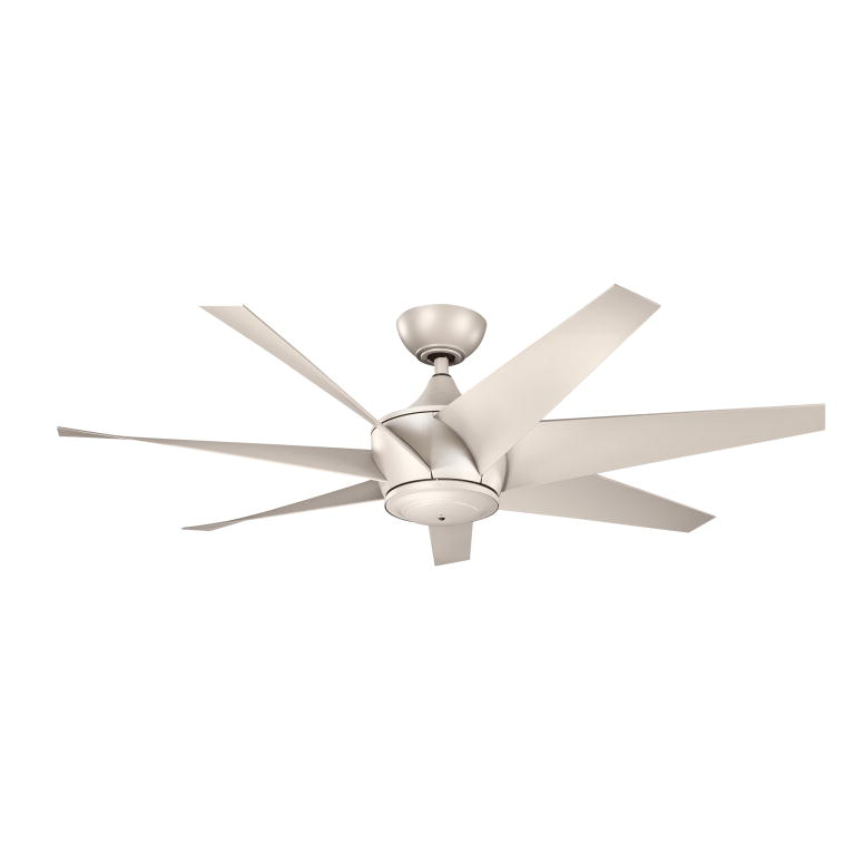Kichler 310112ANS Lehr II Antique Satin Silver Finish Indoor / Outdoor 54  Inch Home Ceiling Fan. Loading Zoom