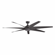 Kichler 310115DBK Lehr Modern Distressed Black Finish Indoor / Outdoor 80 Inch Home Ceiling Fan