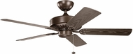 Kichler 310145CMO Enduro Coffee Mocha 52  Ceiling Fan