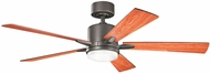 Kichler 330000OZ Lucian Olde Bronze Cherry / Walnut 52  Indoor Ceiling Fan