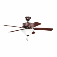Kichler 330110OBB Renew Select Oil Brushed Bronze Finish 50 Inch Ceiling Fan