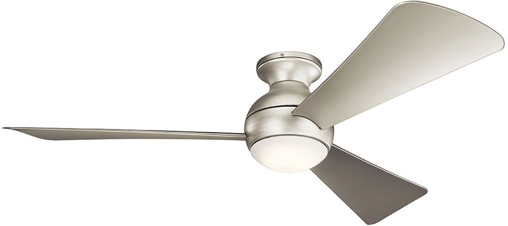 Kichler 330152ni sola contemporary brushed nickel 54 indoor ceiling kichler 330152ni sola contemporary brushed nickel 54nbsp indoor ceiling fan loading zoom mozeypictures