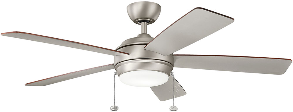 ceiling fan with led light and remote price lights amazon brushed nickel