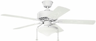 Kichler 339516MWH Renew Select Patio Matte White Exterior Ceiling Fan