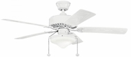 Kichler 339516WH Renew Select Patio White Fluorescent 52 Inch Ceiling Fan