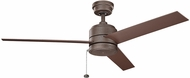 Kichler 339529WCP Arkwet Patio Modern Weathered Copper Powder Coat Exterior Ceiling Fan