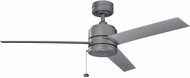 Kichler 339529WSP Arkwet Patio Contemporary Weathered Steel Powder Coat Exterior Home Ceiling Fan