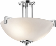 Kichler 3797CHL16 Eileen Modern Chrome LED Ceiling Light