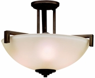 Kichler 3797OZL16 Eileen Modern Olde Bronze LED Ceiling Lighting Fixture