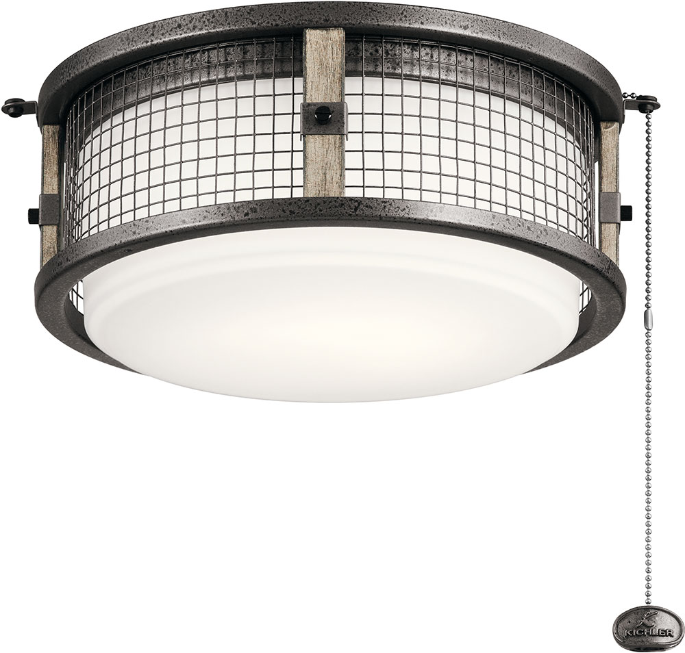 Kichler 380949avi ahrendale contemporary anvil iron led indoor kichler 380949avi ahrendale contemporary anvil iron led indoor outdoor ceiling fan light fixture loading zoom aloadofball Image collections