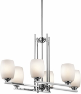 Kichler 3898CHL16 Eileen Contemporary Chrome LED Island Lighting
