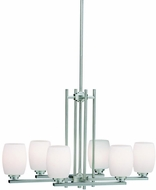 Kichler 3898NIL16 Eileen Modern Brushed Nickel LED Kitchen Island Lighting