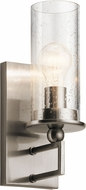 Kichler 42126CLP Kayde Modern Classic Pewter Wall Sconce
