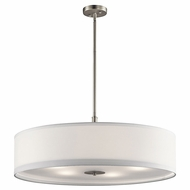 Kichler 42196NI Brushed Nickel Drum Lighting Pendant