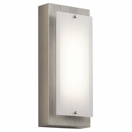 Kichler 42372NILED Vego Modern Brushed Nickel LED Wall Lighting