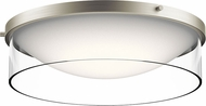 Kichler 42493NILED Tarla Contemporary Brushed Nickel LED Ceiling Lighting Fixture