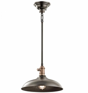 Kichler 42580OZ Cobson Retro Olde Bronze Hanging Light