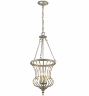 Kichler 42611SGD Calla Sterling Gold Foyer Light Fixture