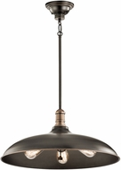 Kichler 42649OZ Cobson Retro Olde Bronze Pendant Lighting Fixture