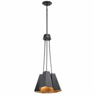 Kichler 42797BK Aidan Modern Black Multi Hanging Light Fixture