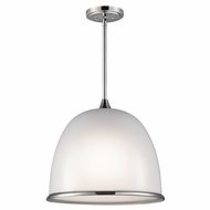 Kichler 42952CH Rory Contemporary Chrome 18  Drop Ceiling Lighting