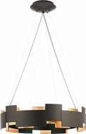 Kichler 42992OZLED Moderne Contemporary Olde Bronze LED Hanging Lamp