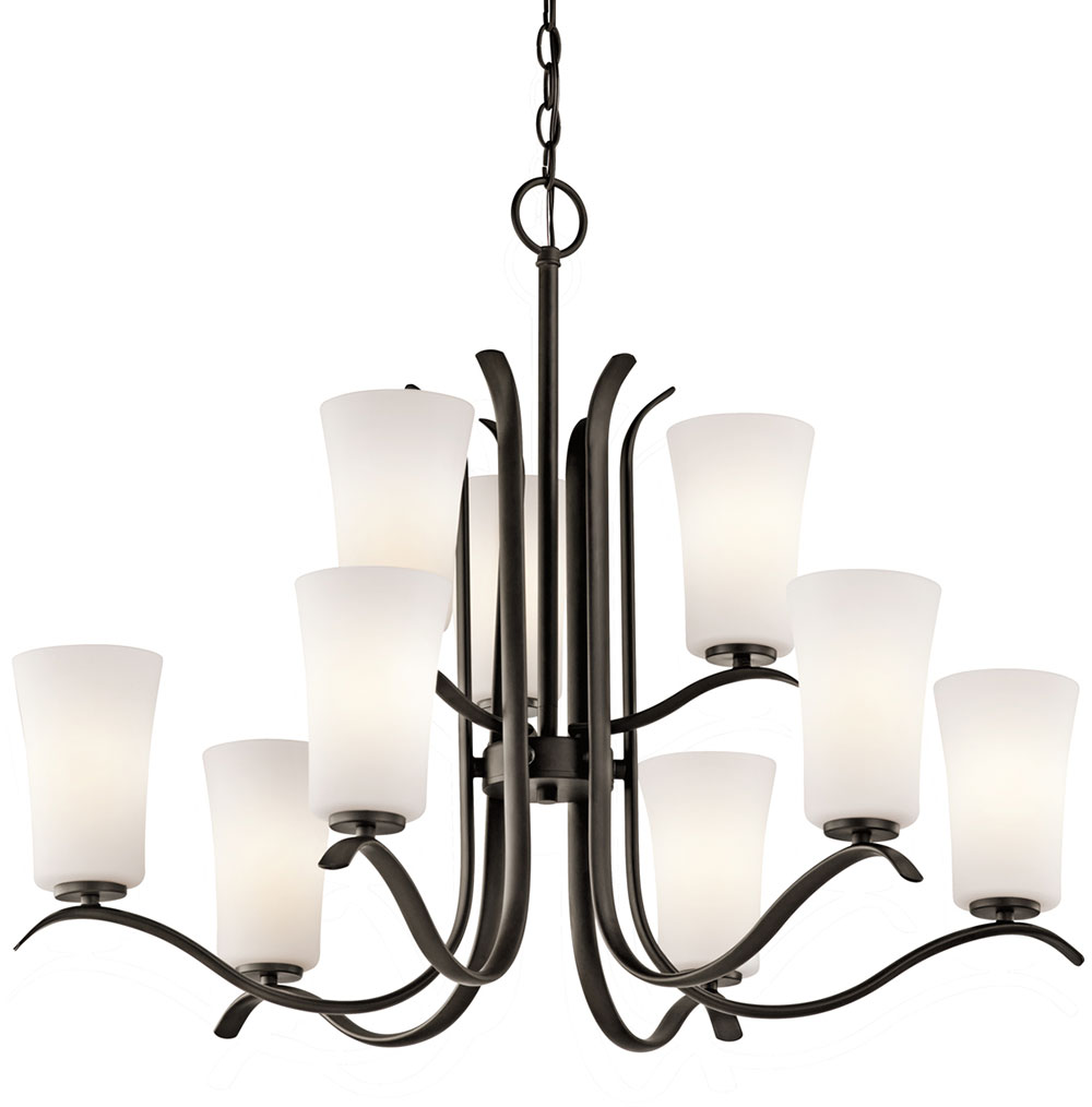 finish loading nbsp kichler chandelier zoom light chandeliers nickel brushed tall keiran kic