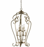Kichler 43166SGD Monroe Sterling Gold Entryway Light Fixture