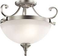 Kichler 43169NIL16 Monroe Brushed Nickel LED Overhead Lighting