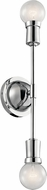 Kichler 43195CH Armstrong Contemporary Chrome Wall Mounted Lamp